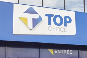 illustration Enseigne - Top Office poursuit sa transformation…